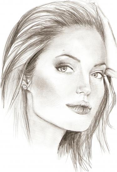 Angelina Jolie por puckie